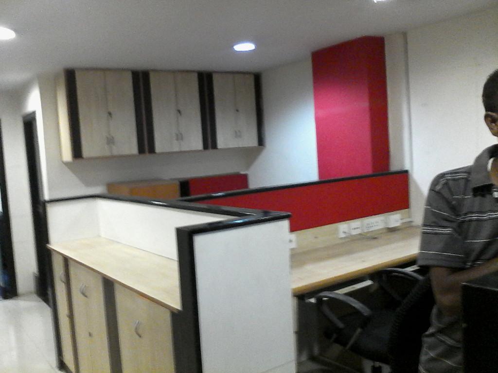furnished 1400 sq ft office on camac street nr a j c bose road