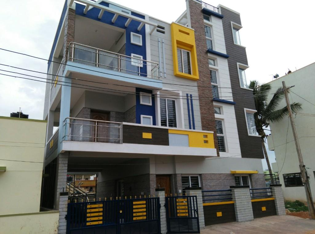 Bronx new duplex house for sale yelahanka karnataka for Duplex images india