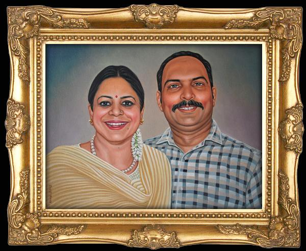 We makes delhi image pencil sketch oil portrait painting from photo