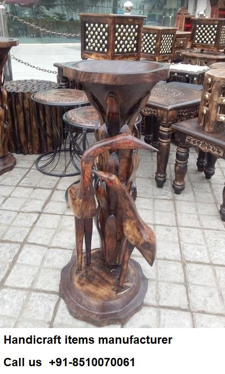 Wooden Wood Handicraft Item Design Manufacturers Exporters India