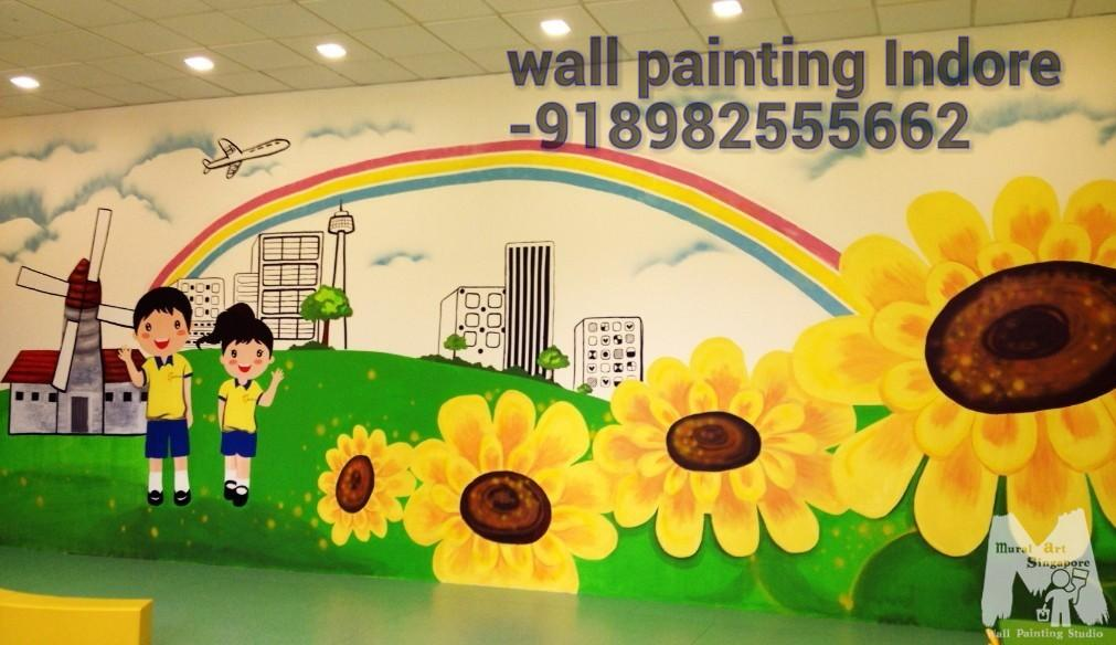 Play School Wall Painting Service Kota