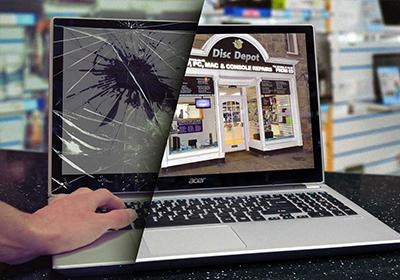 Call 9710182830 HP Laptop Broken Screen replacement near