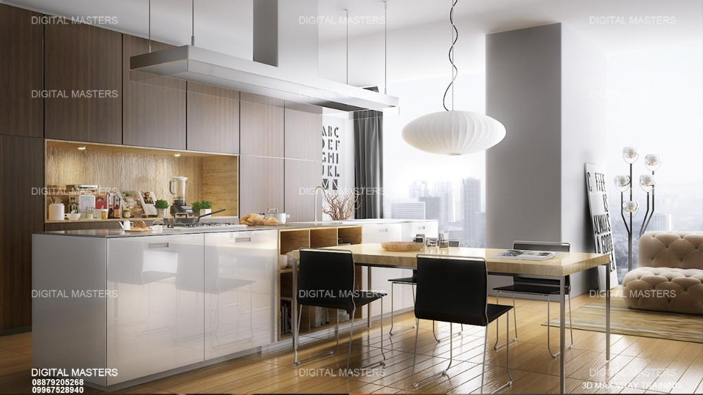 Architectural Rendering Classes,Vray Lighting Rendering