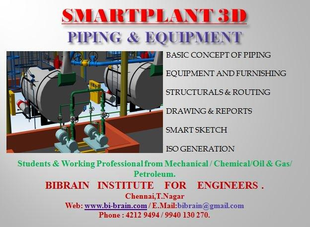 smart plant 3d plant layout software training bibrain – intergra -  image 3