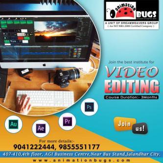 Video Editing Institute in Jalandhar